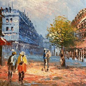 Raymond Ferry oil painting Frame